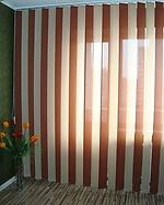 Тканевые вертикальные жалюзи, с шириной ламели 89 мм
